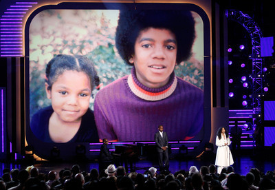 Michael and little Janet <3
