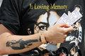 Michael's memorial  - michael-jackson photo
