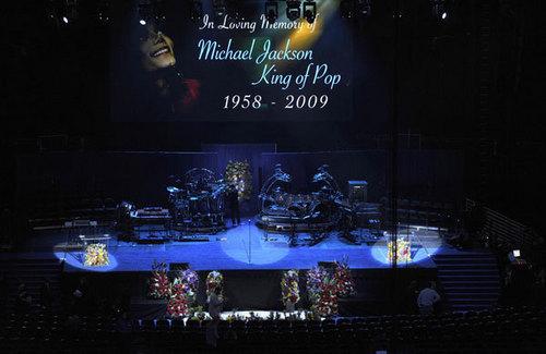 Michael's memorial
