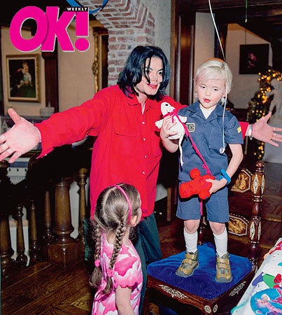 Michael with Paris and Prince