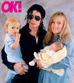 Michael with Paris and Prince - michael-jackson photo