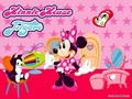 Minnie Mouse and Figaro Wallpaper - minnie-mouse wallpaper