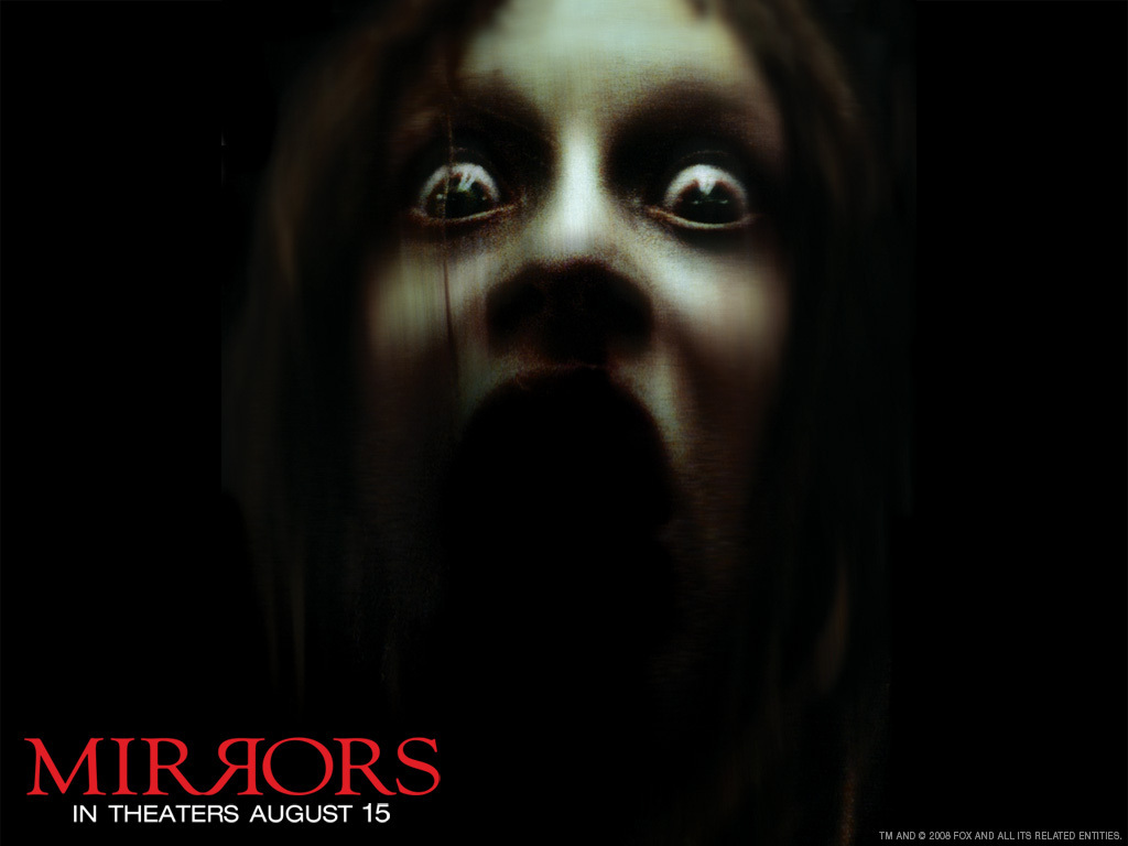 mirrors horror movies wallpaper 7056638 fanpop