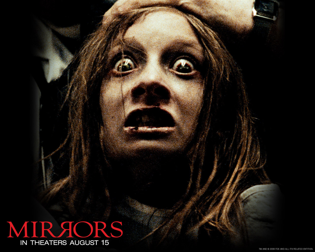 Mirrors horror movies wallpaper 7085484 fanpop for Mirror horror movie