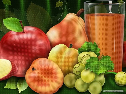 Mixed Fruit Wallpaper