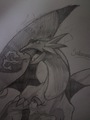 My drawing of Salamence - dragon-type-pokemon fan art
