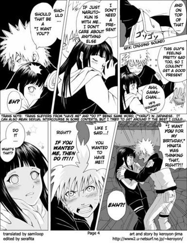Naru+Hina birthday Наруто pg 4