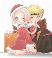 NaruSaku- Christmas - narutoxsakura photo