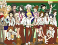 Naruto-school students