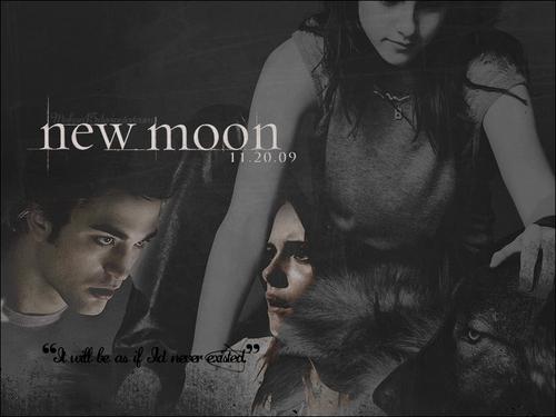 New Moon fond d'écran