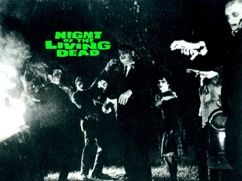 Night Of The Living Dead Horror Movies Wallpaper 7057036