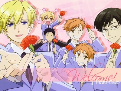 ouran high school host club wallpaper with anime entitled OHSHC
