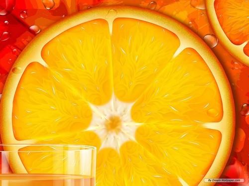オレンジ 壁紙