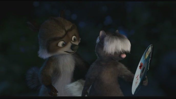 Over The Hedge Stella And Tiger