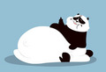 Panda a little fatter than usual