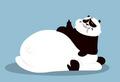 Panda a little fatter than usual