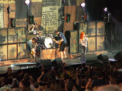 Paramore (On Tour- Indiana)