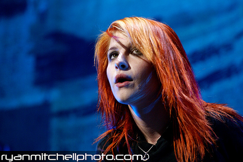 Paramore (On Tour- Tinley Park, IL 7/11/09)