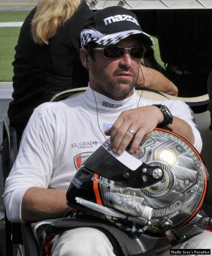 Patrick at Daytona - patrick-dempsey photo