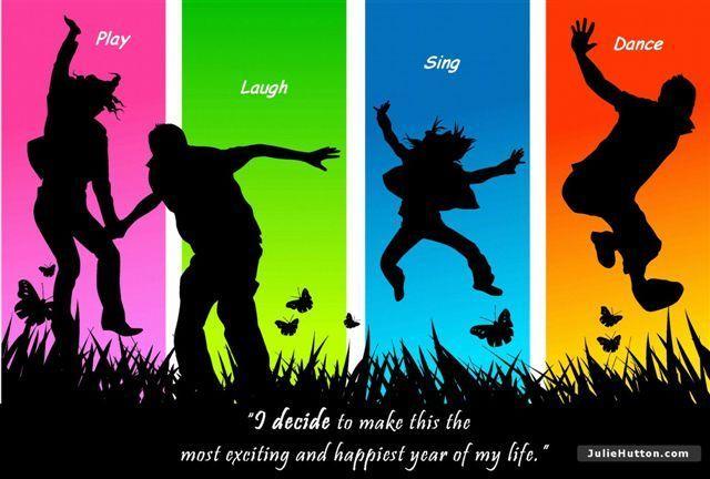 Play, Laugh, Sing, Dance