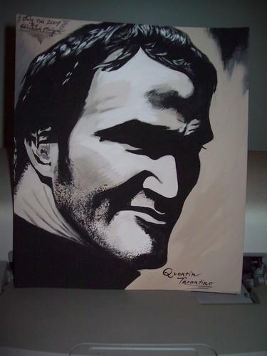 Quentin Tarantino Portrait