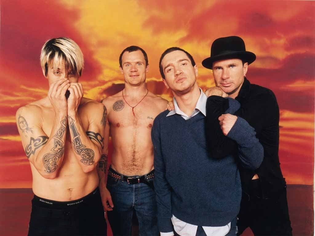 Warner bros have released a series of promotional photos for the new rhcp album the getaway