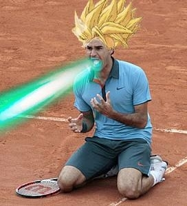 Roger Federer Parody تصاویر
