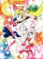 Sailor Moon & Sailor chibi Moon
