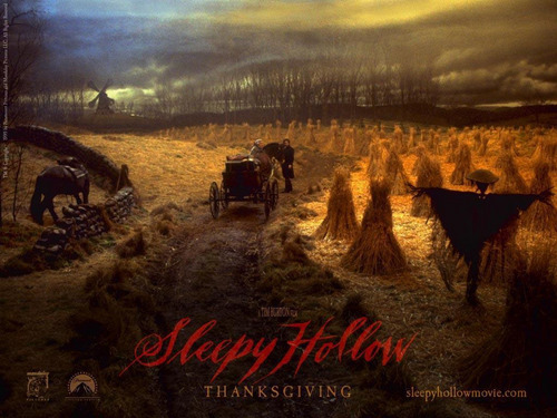 Horror films achtergrond called Sleepy Hollow