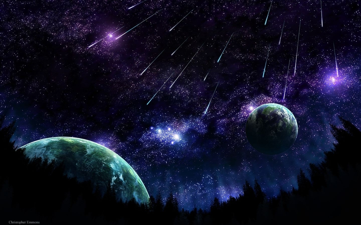 Space Wallpaper Art