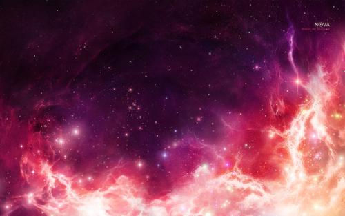 Space Art achtergrond