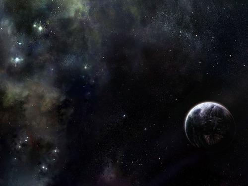 우주 Art 바탕화면