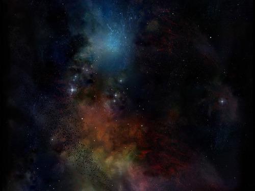 太空 Art 壁纸