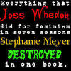 Critical Analysis of Twilight litrato called Stephanie Destroyed Joss's Work