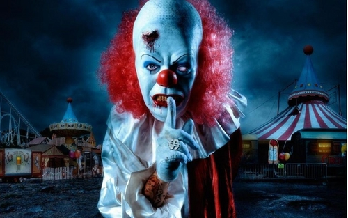 Filem Seram kertas dinding titled Stephen King's It