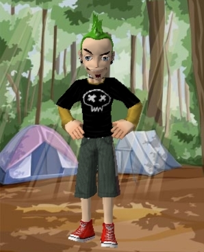 TDI character as meez