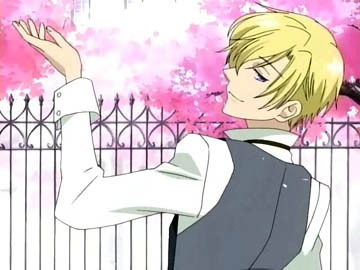 ouran high school host club wallpaper possibly containing anime titled Tamaki