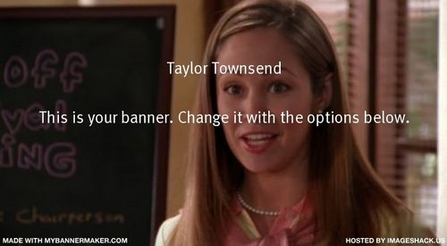 Taylor Townsend Banner(made 由 me)