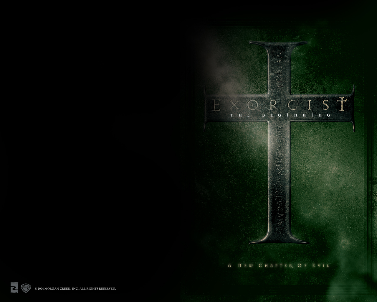 The Exorcist The Beginning Horror Movies Wallpaper