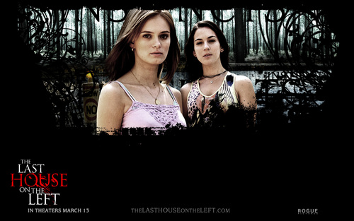 Horror Movies wallpaper possibly containing a dinner dress, a bridesmaid, and a cocktail dress titled The Last House on the Left (2009)