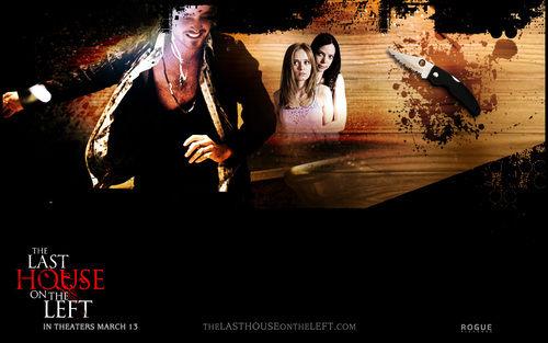 Horror Movies wallpaper probably containing a concert called The Last House on the Left (2009)