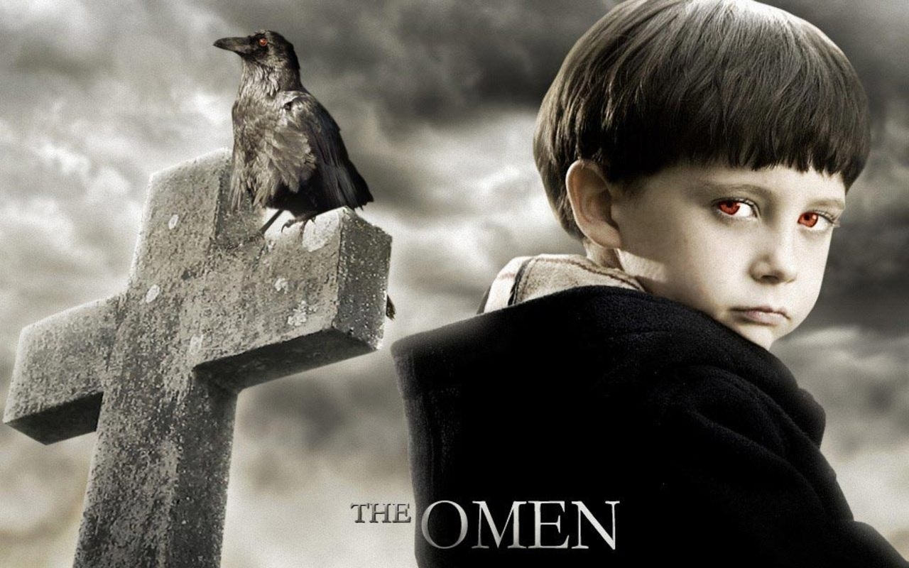 the omen horror movies wallpaper 7055724 fanpop