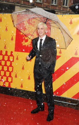 Tom Felton HBP UK Premiere