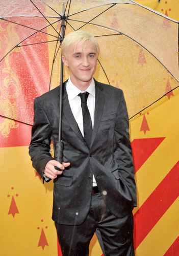 Tom Felton at the UK HBP Premiere