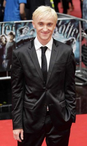 Tom Felton in HBP Londres Premiere