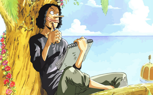 One Piece wallpaper possibly with anime titled Usopp