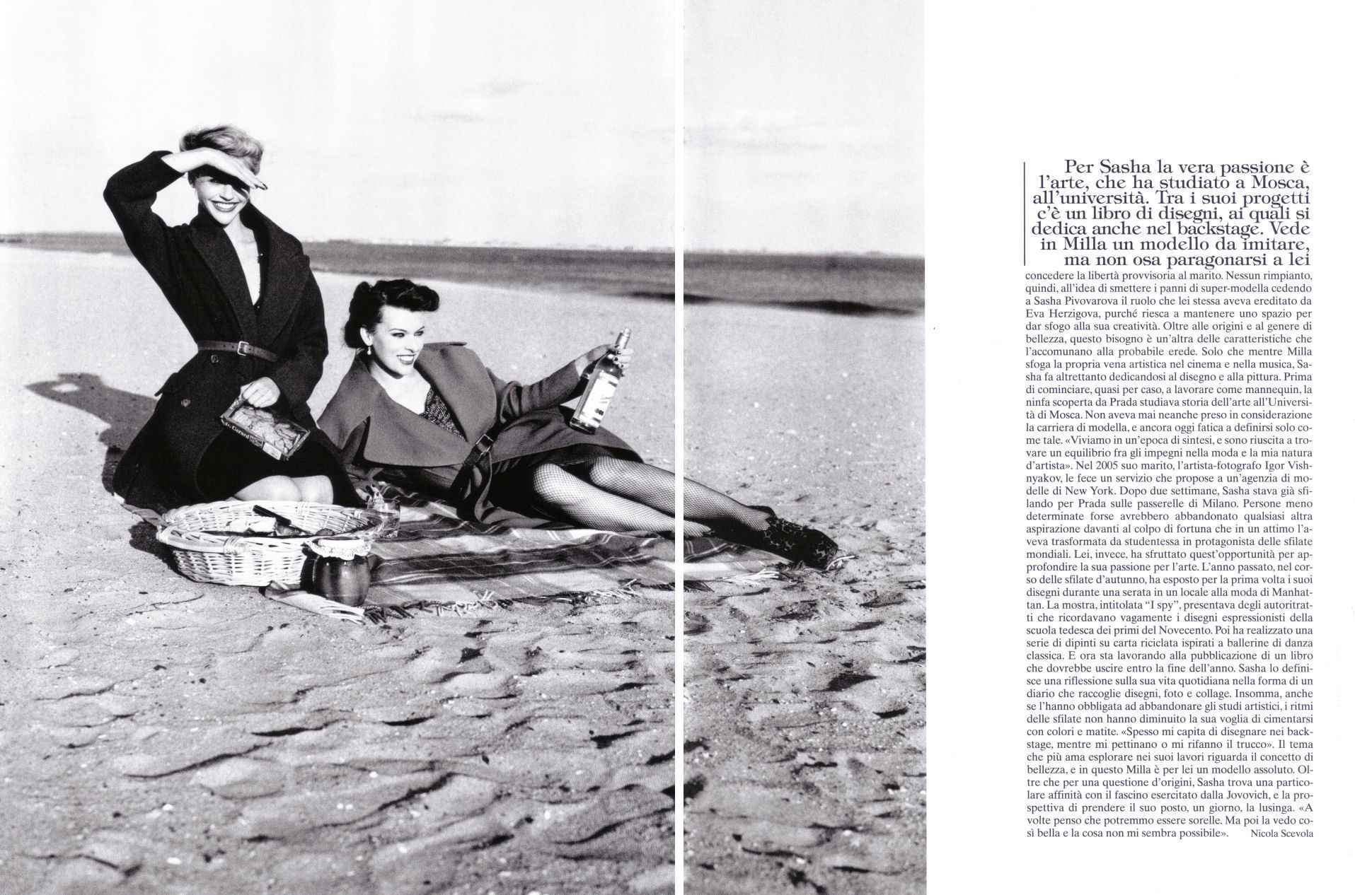 Vogue (Italy) July 2009