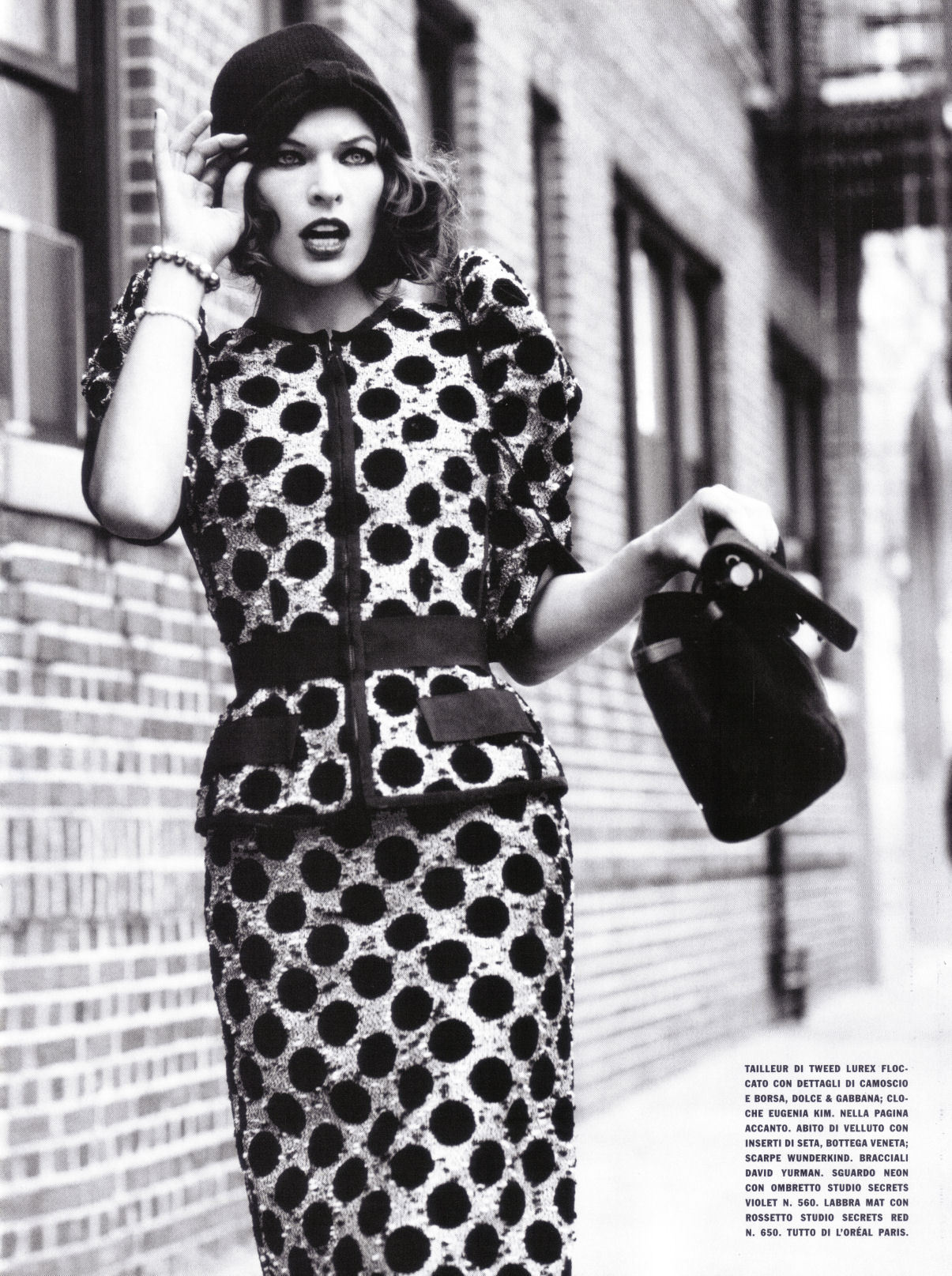Vogue (Italy) July 2009 - milla-jovovich photo