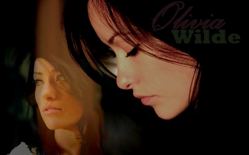 Olivia Wilde wallpaper containing a portrait entitled Wall OW
