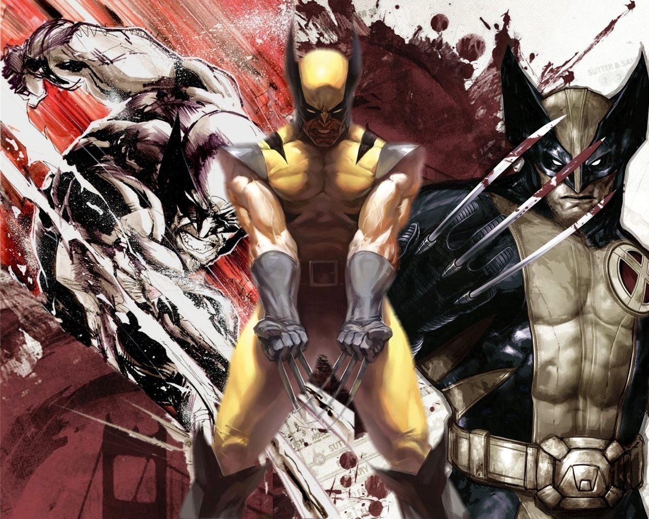 wolverine x men wallpaper 7050693 fanpop
